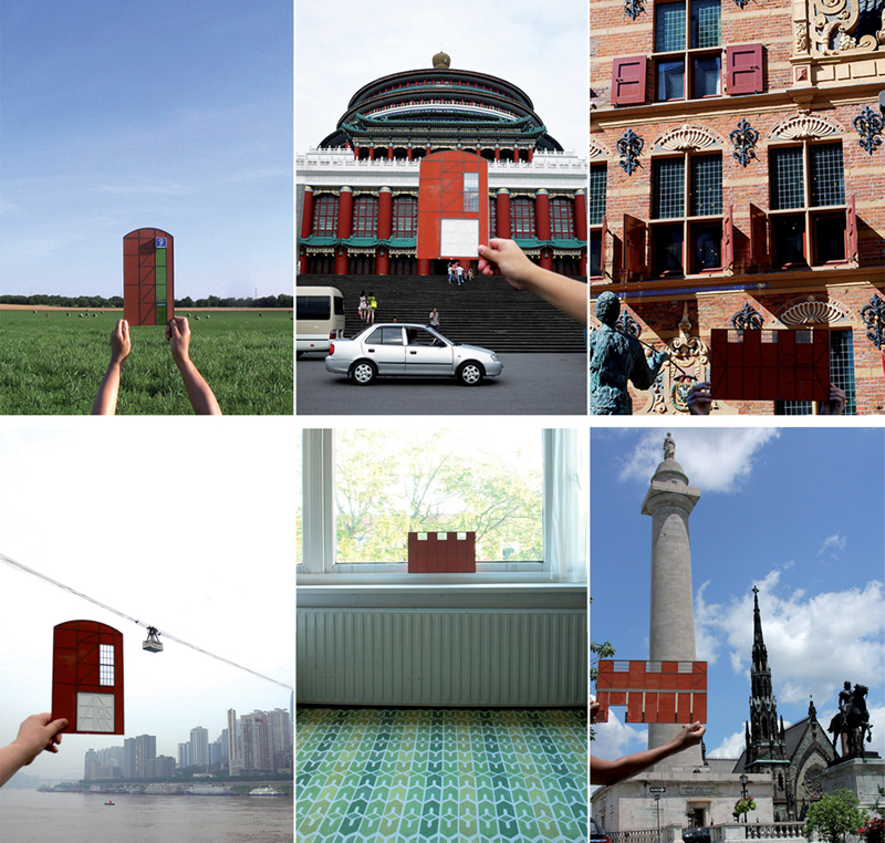 6 out of 40 postcard designs for Postcard Sale - de Loods (Silo) Groningen, the Netherlands /  2013