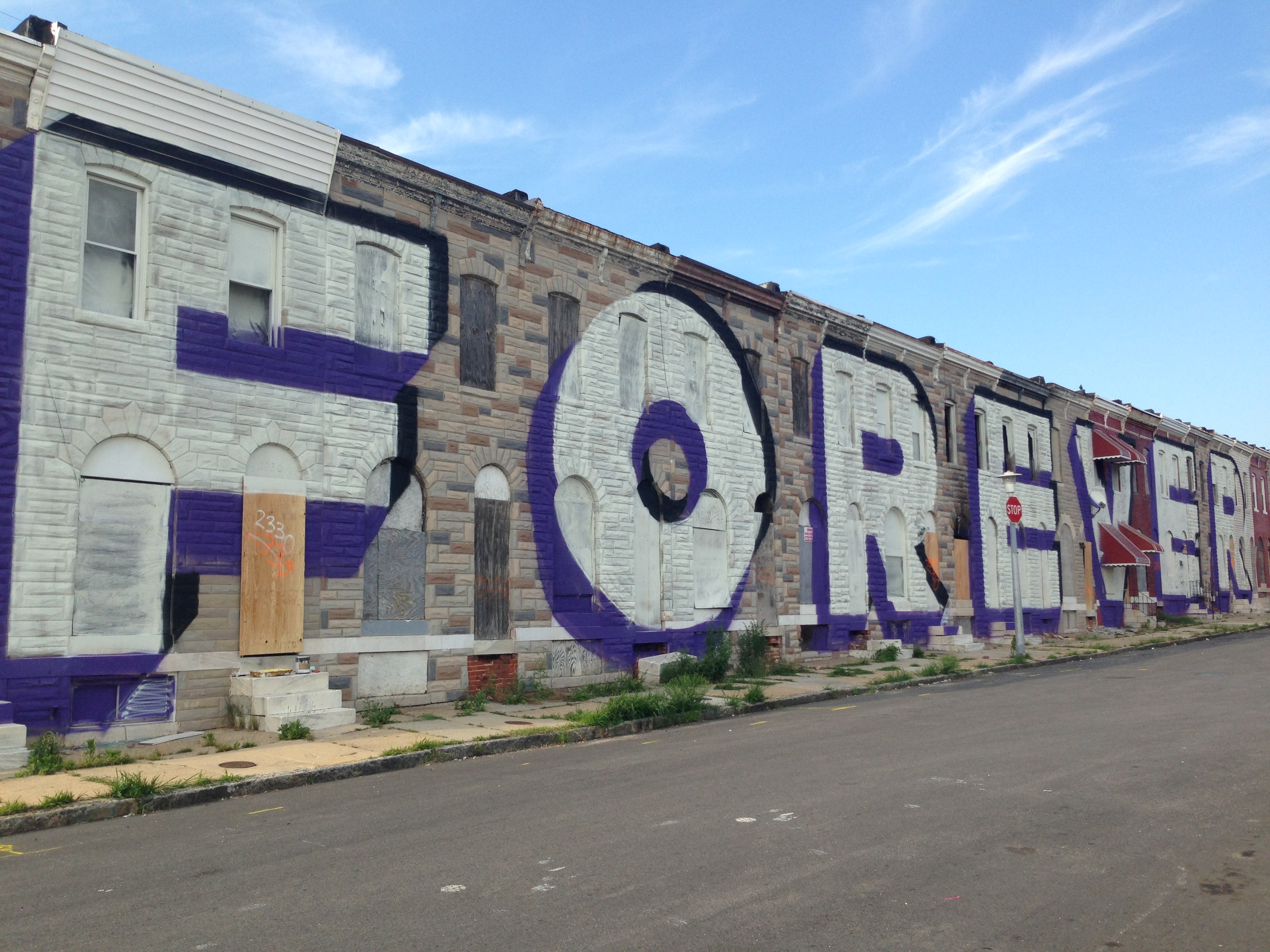 A love letter for us baltimore arts for Baltimore mural program
