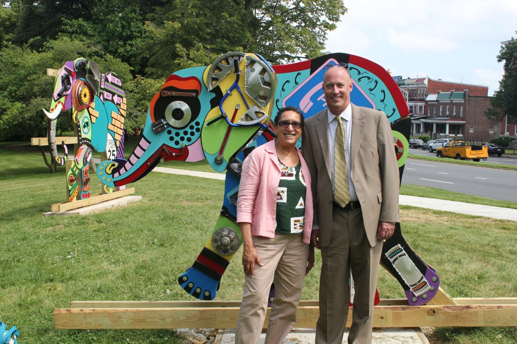 Randi Vega & Will Backstrom, the masterminds behind the PNC Transformative Art Prize
