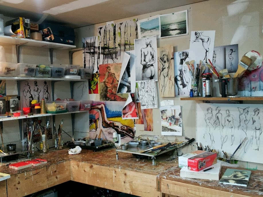Sandra Sedmak-Engal's studio