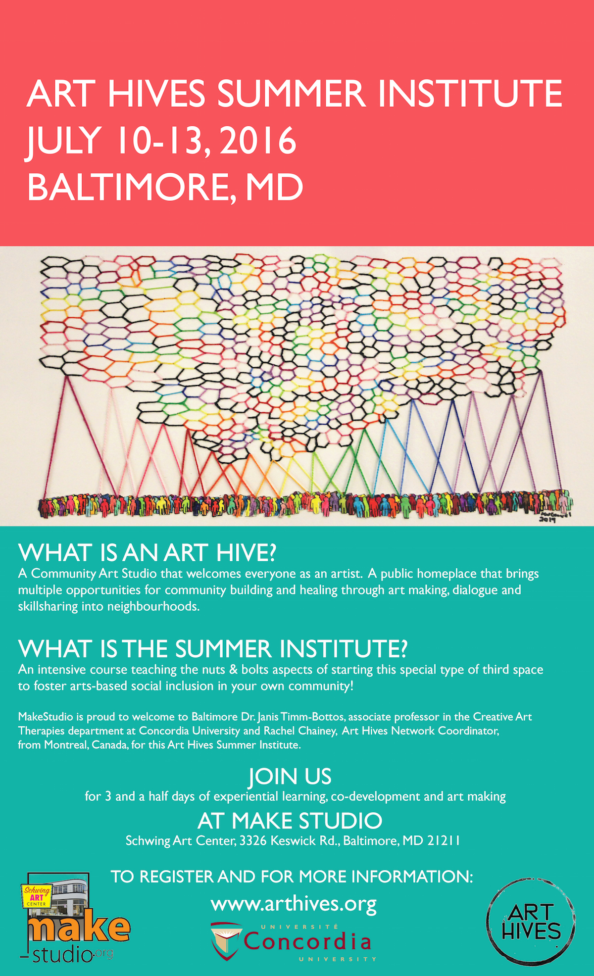 Art Hives Summer Institute Baltimore