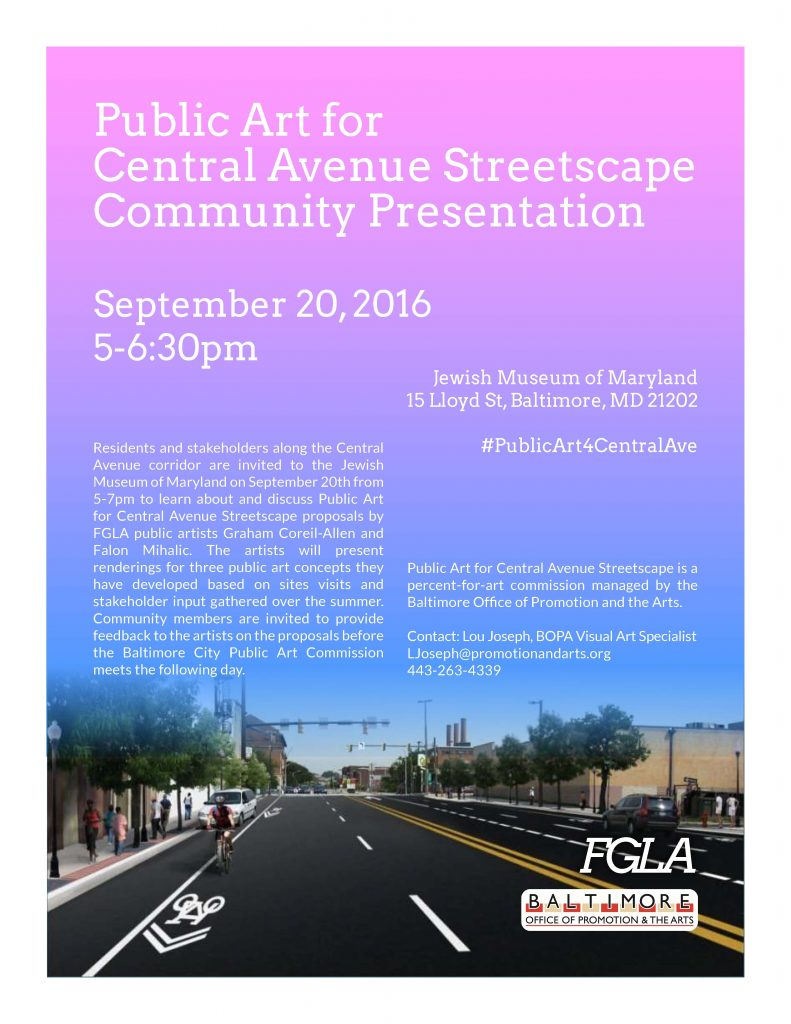 public-art-for-central-ave-community-presentation-9-20-flyer