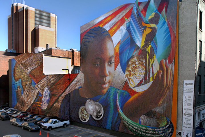 Call for artists the pursuit of happiness philadelphia for Mural tour philadelphia map